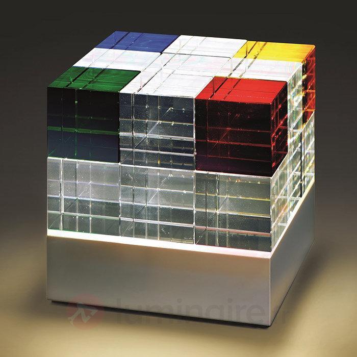 Objet lumineux LED Cubelight CL1 - Lampes à poser LED