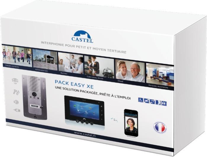 Pack EASY XE & XE BLE - Kits de vidéophonie pré-programmés pour petit et moyen tertiaire