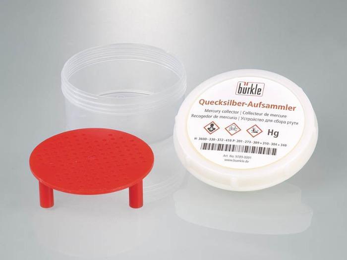 Mercury collector - Laboratory equipment, protective equipment