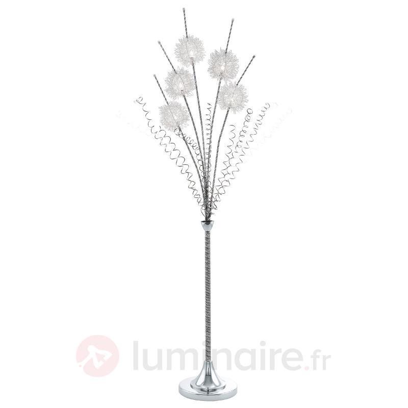 Lampadaire Agliano avec décoration florale - Tous les lampadaires