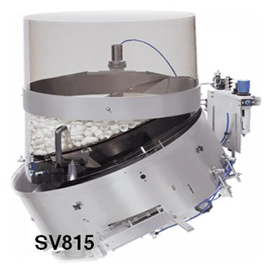 cap handling systems - Rotary Sorters