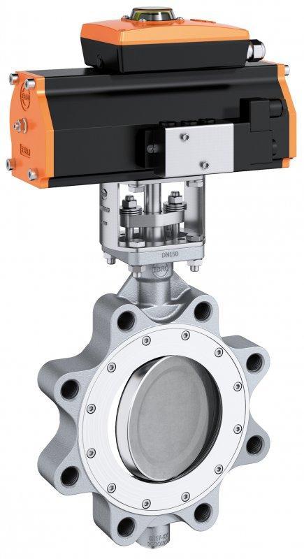 Válvula de cierre y control  tipo HP 114 - Válvula de alto rendimiento adecuada para altas presiones y altas temperaturas