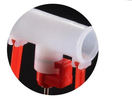 poutry/Chick/chicken hanging drinking cup - automatic poultry double nipple drinker for chicken