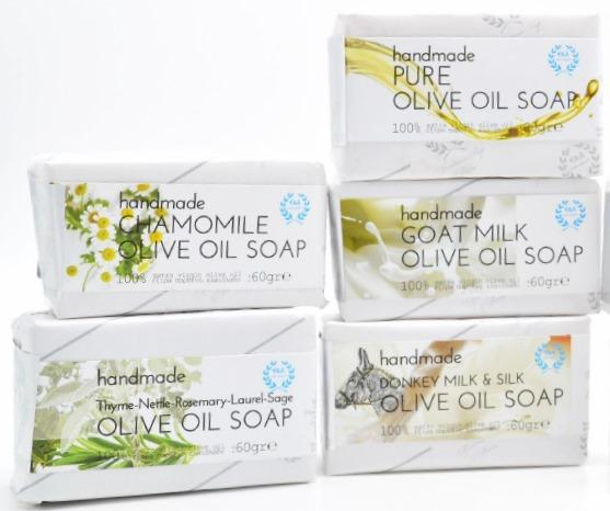 SOAPS - Handmade with extra virgin olive oil