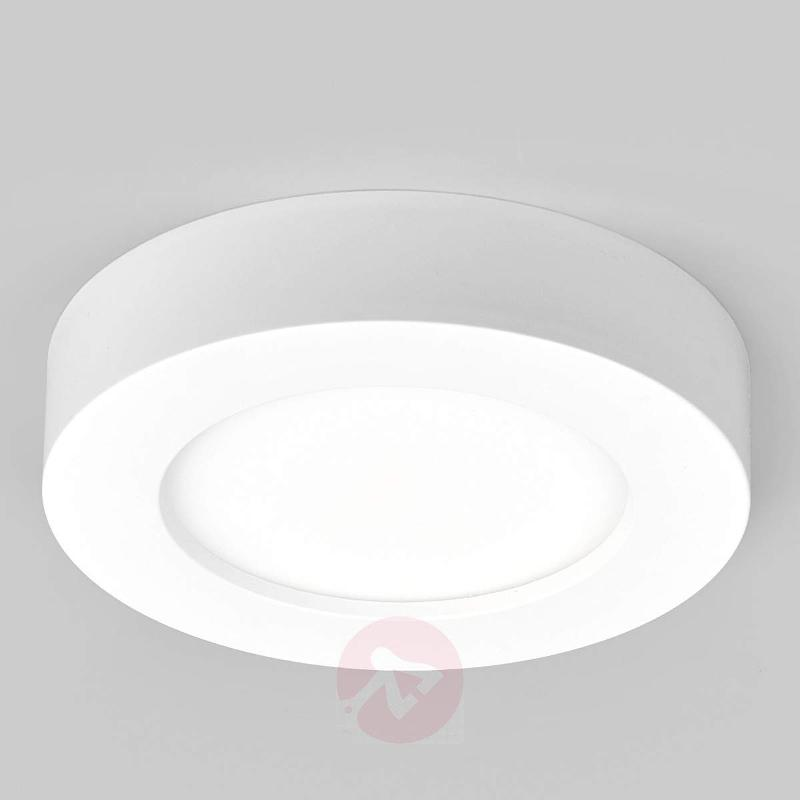 Round LED ceiling lamp Esra for bathrooms - Ceiling Lights