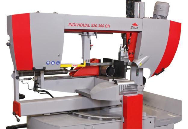 Scie à ruban semi-automatique  - INDIVIDUAL 520.360 GH