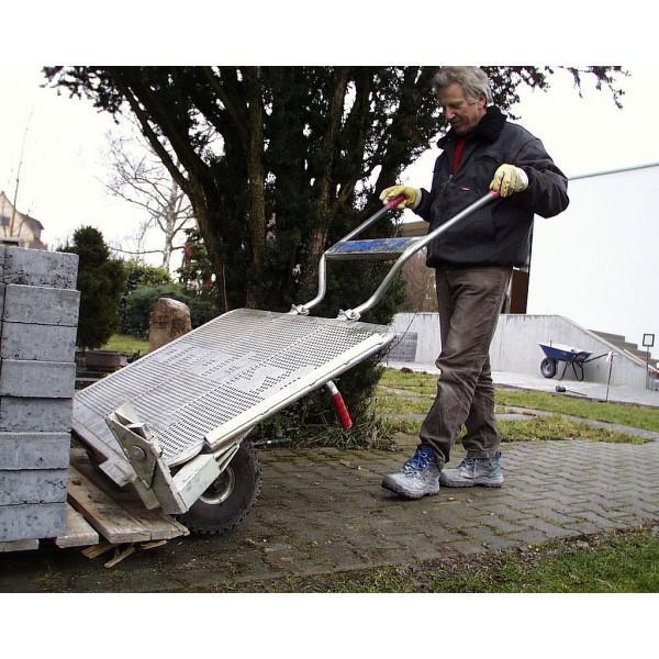 Diable/chariot pour le transport de pavés VTK (2...