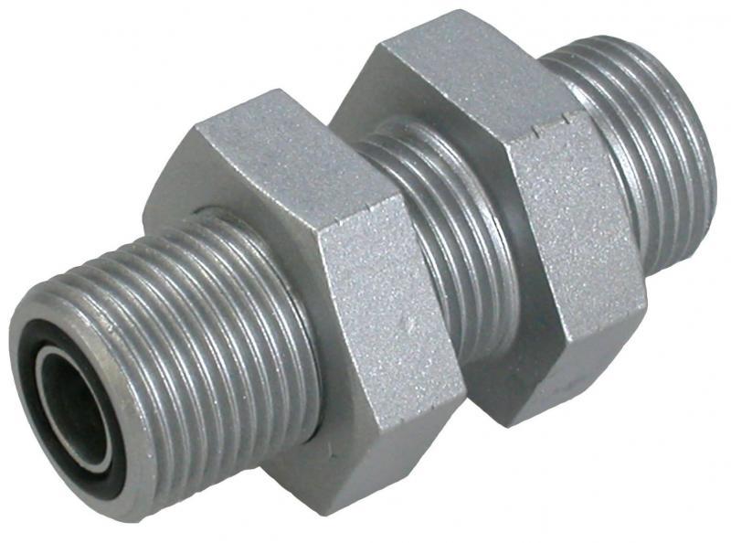 SVR-O 1 3/16-12 1 7/16-12 bulkhead strai - Steel