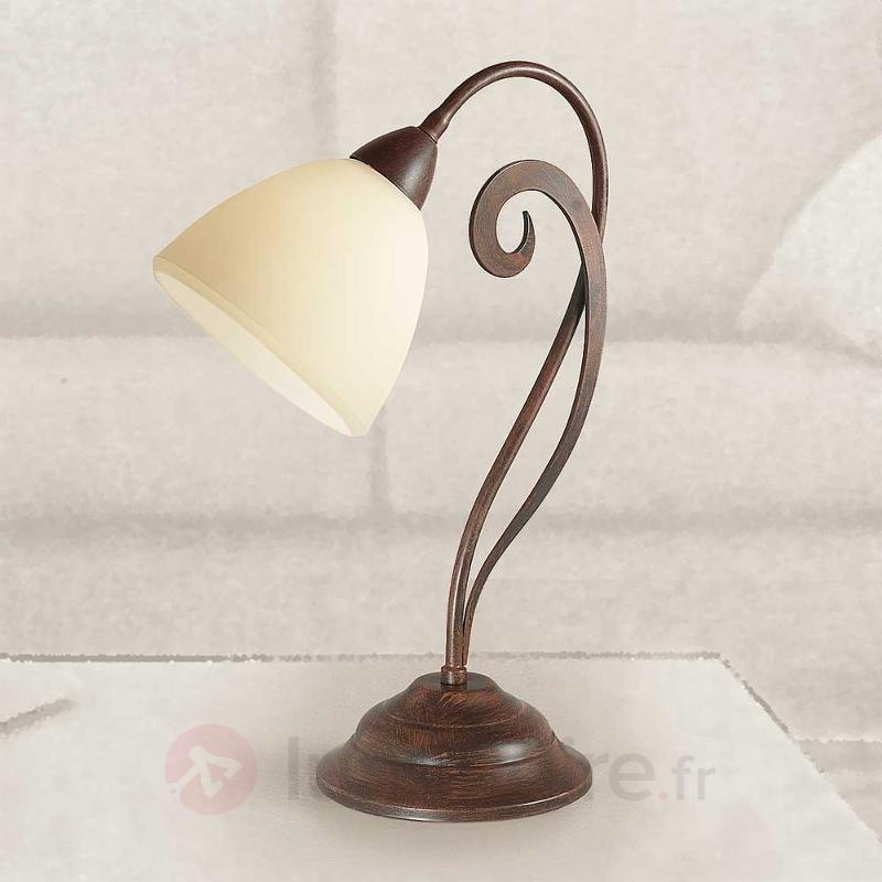 Lampe à poser rustique Luca - Lampes à poser rustiques