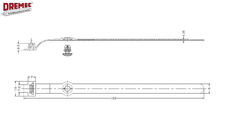 Flat Tie Holder, Arrowhead - null
