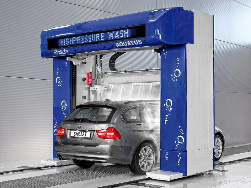 Car-Wash - Portique de lavage Christ Aquatus - True Touchless - sans compromis