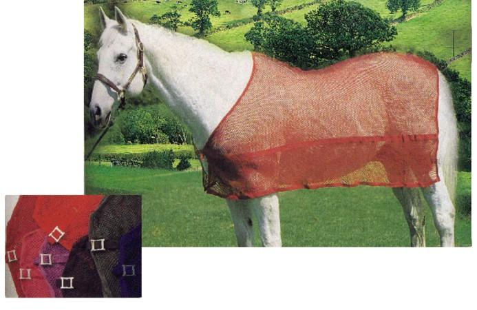 Mesh Cotton Fabric Horse Rug Clothes Net Rugs Blankets