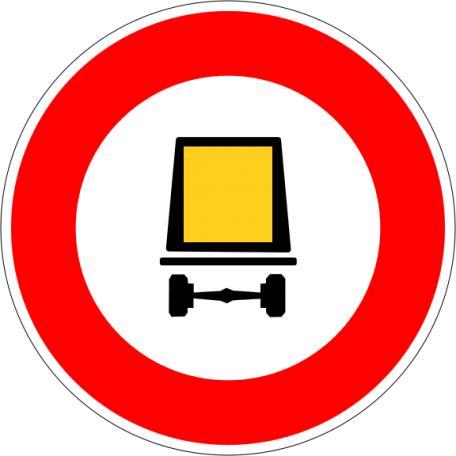 Panneau B 18c - Balisage De Chantier Et Panneaux Routiers