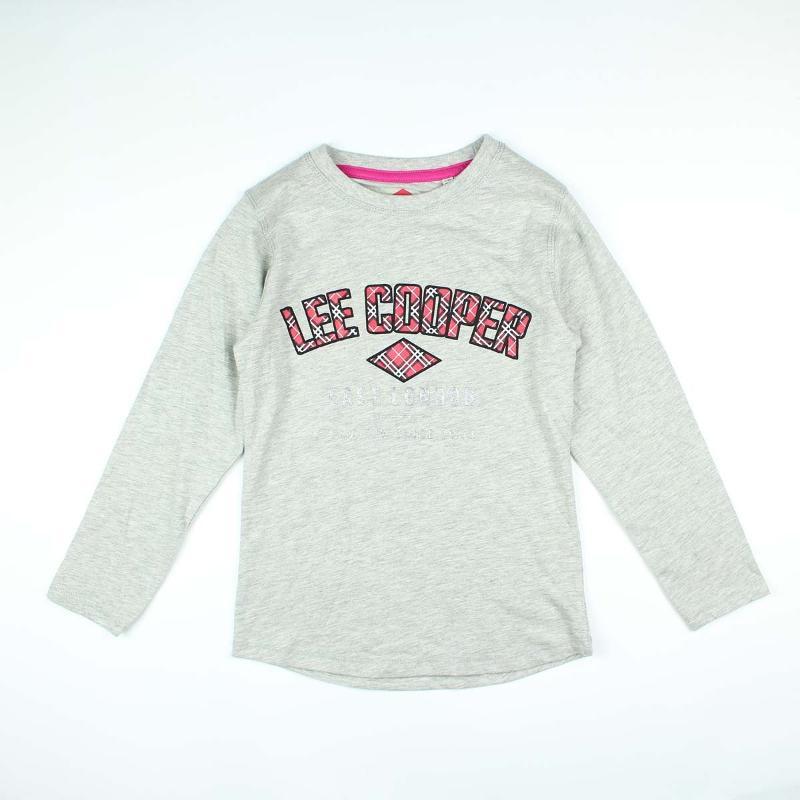 Fabricant de TEE SHIRT LEE COOPER FILLE ML PRIX - T-shirt et Polo manches longues