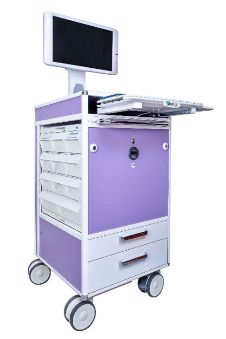 TECNOCAR - MEDICATION WORK STATION