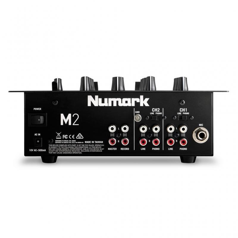 DJ-Mixer - Numark M2 Black