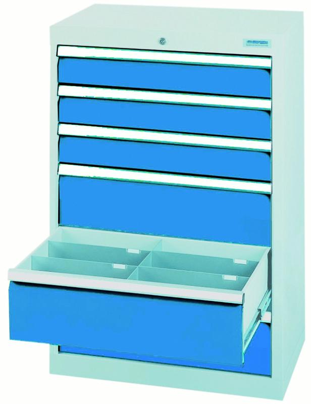 Drawer cabinet series T500-6 with 6 drawers, different... - 60.303A