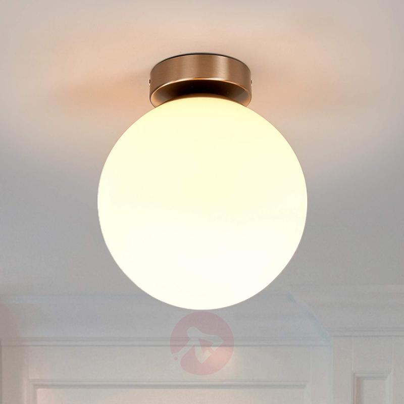 Round bathroom ceiling light Lennie - indoor-lighting