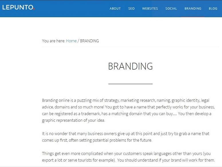 Branding - Creación de marcas para empresas, productos y servicios