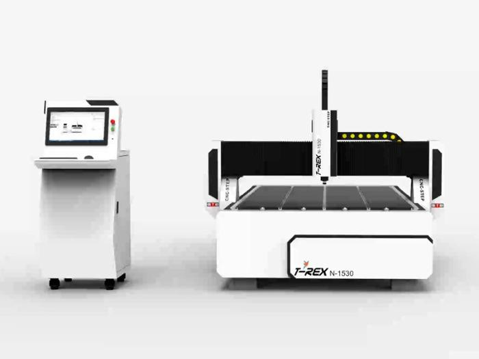 Portalfräsmaschine CNC Fräse CNC-STEP - T-Rex N-1530 CNC Fräse von CNC-STEP