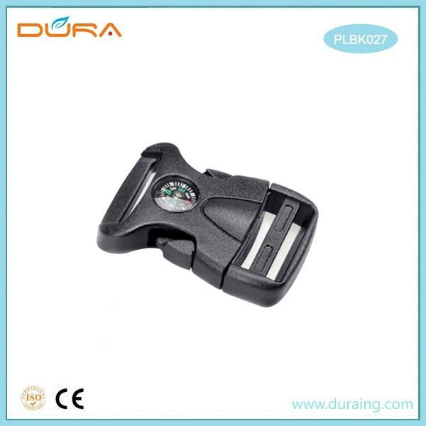 PLBK027 Plastic Buckle - We supply different styles dog collar snap buckle for dog collar