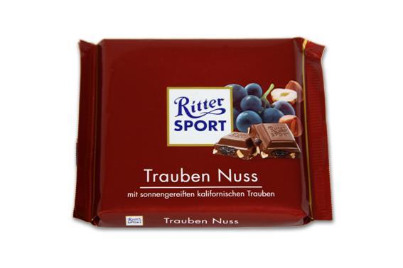 RITTER SPORT Nut & Grapefruit chocolate - null