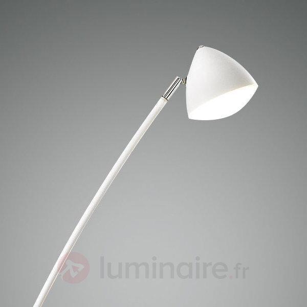 Lampadaire LED Bike légèrement courbé variateur - Lampadaires LED