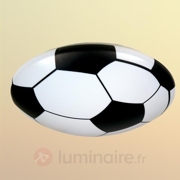 Plafonnier Ballon de foot en matériau synthétique - Chambre d'enfant