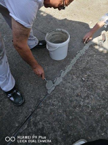 FM Epoxi Betonrep Elasto - Dehnungsfugenerhalt mit elastischen Epoxid