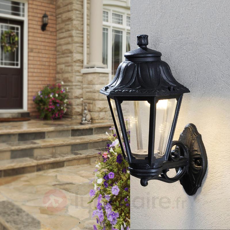 Applique d'ext. LED Bisso Anna, lanterne dressée - Appliques d'extérieur LED