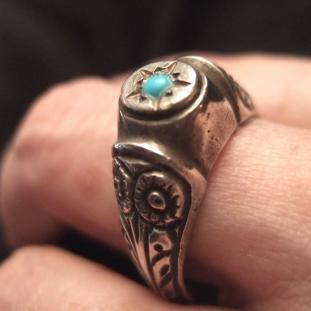 Bagues - Argent, Turquoise, Turquie