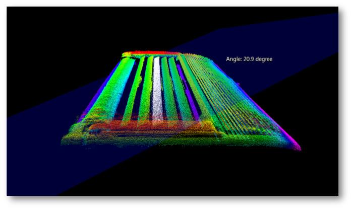 Inspection of razor blades - Integration of 3D Laser Scanners into production line