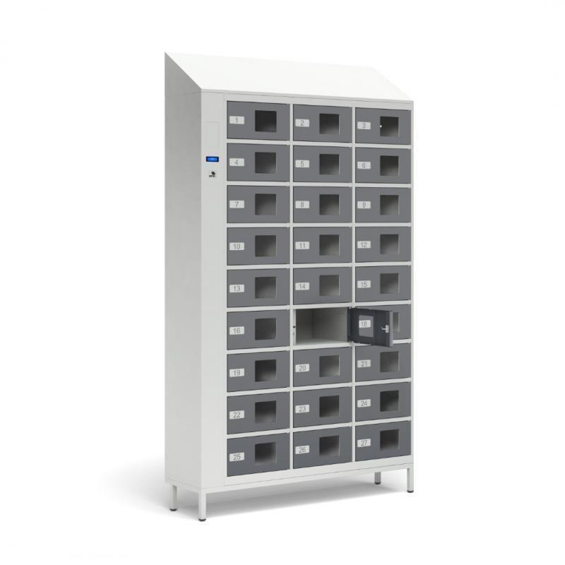 Szafy TECHCODE śniadaniowe - Zdalnie sterowane szafki RFID z kontrolą dostępu