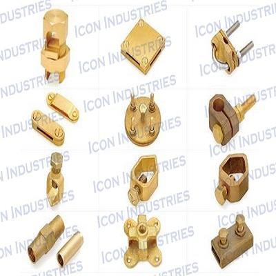 Brass Clamp and connector 1 - Brass Clamp and connector 1
