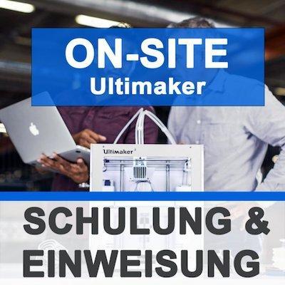 Schulung & Inbetriebnahme ON-SITE - 3D Drucker