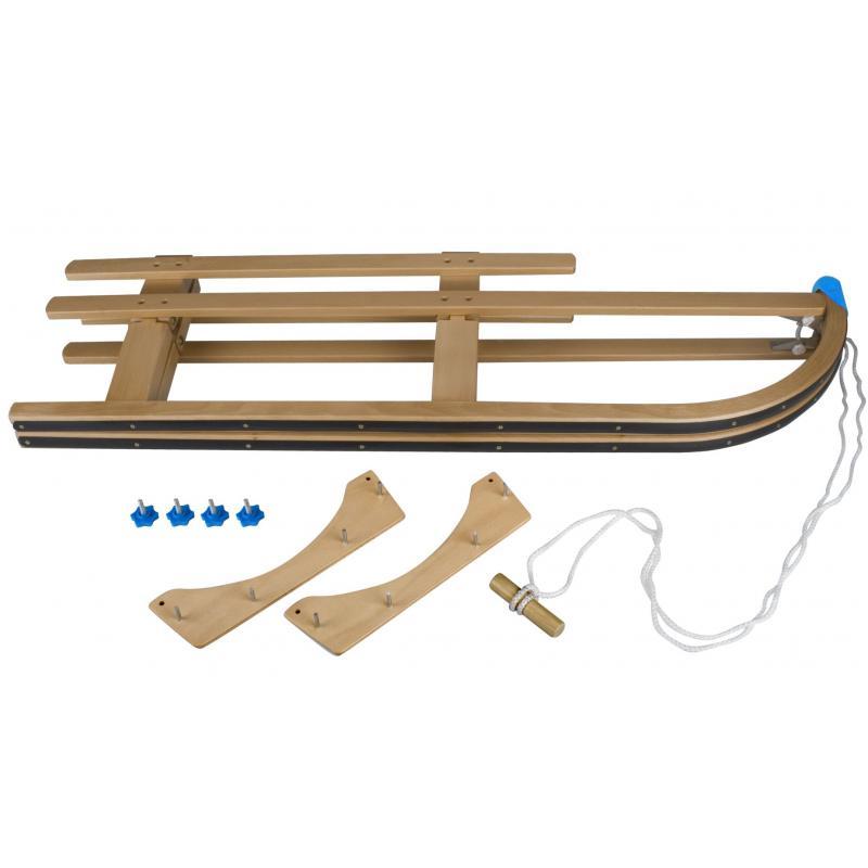 LUGE EN BOIS PLIABLE - en hêtre avec système de pliage en bois