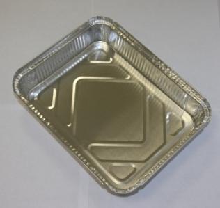 Одноразовая посуда из фольги (Касалетка) 1125 мл R29L - Контейнер из фольги для доставки горячих блюд