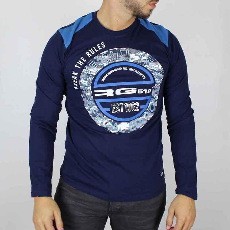 Großhändler Europa T-shirt lizenz RG512 mann - T-shirt und polo langarm