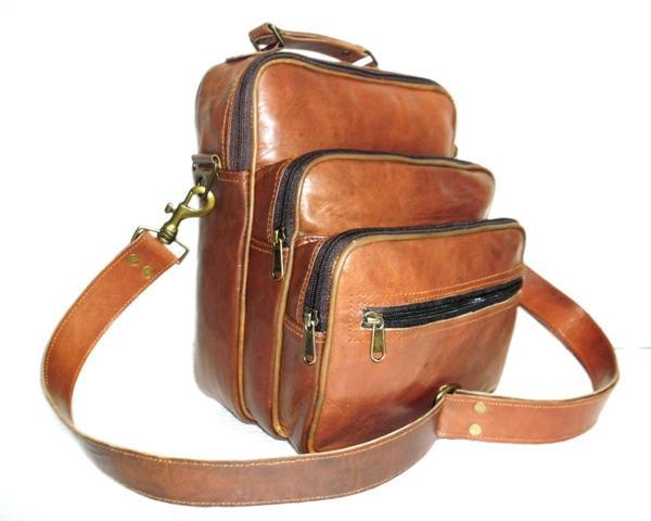 Postman Leather Bag  - Leather Bag