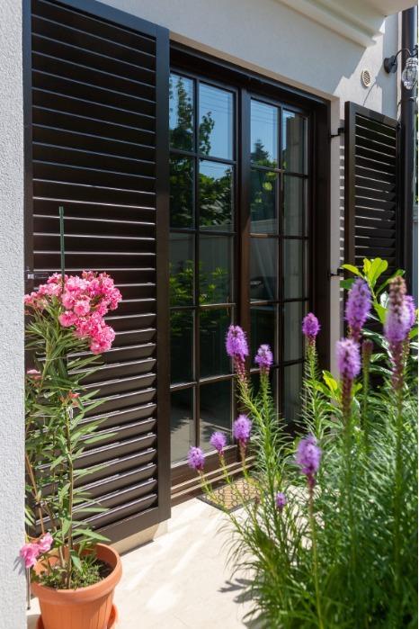 Sliding Shutters - Wooden  shutters