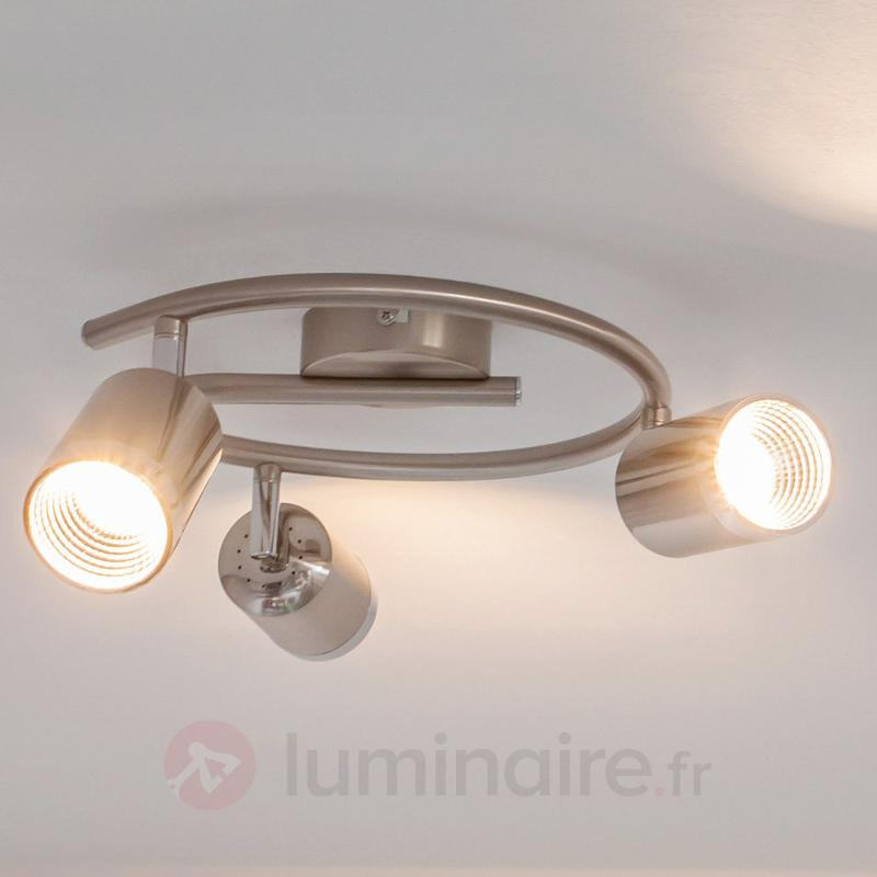 Plafonnier rond Jarne avec LED - Plafonniers LED