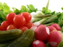 Légumes - Tous légumes émincés, en cubes, en bâtonnets ou en rondelles.