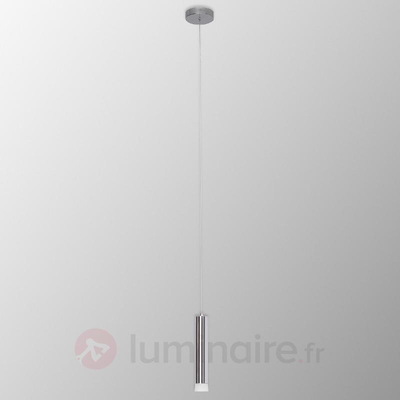 Suspension LED Style II à une lampe, chromé - Suspensions LED
