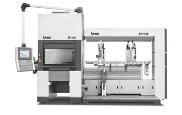 Servosistema de producción y montaje BIMERIC SP - Combinación inteligente de servoprensa y plataforma BIMERIC