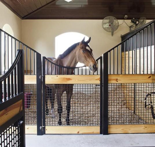 Horse Stall Panels , Customize Design European Style Horse