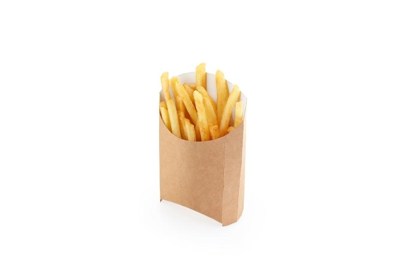 Packaging for French fries - Kraft packaging for French fries