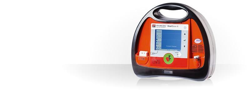 Professional defibrillators for emergency medicine - HeartSave 6/6S