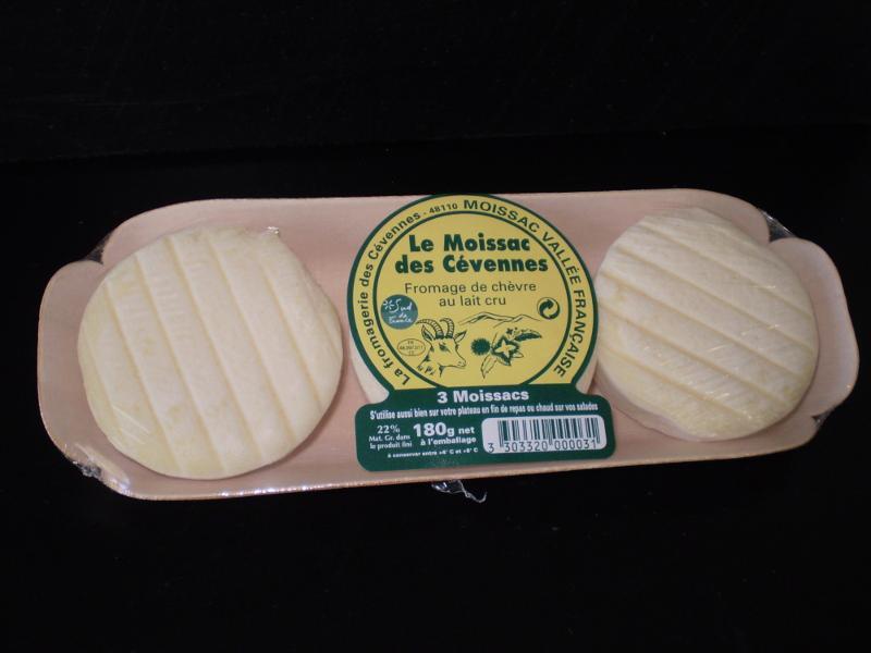 Moissac des Cévennes x 3 sur bois - Produits laitiers