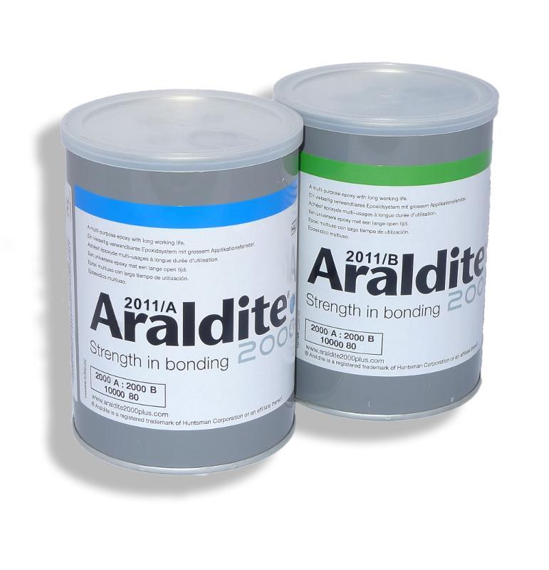 Araldite 2011 | 2 kg Arbeitspackung Harz + Härter - ARA-2011-2KG