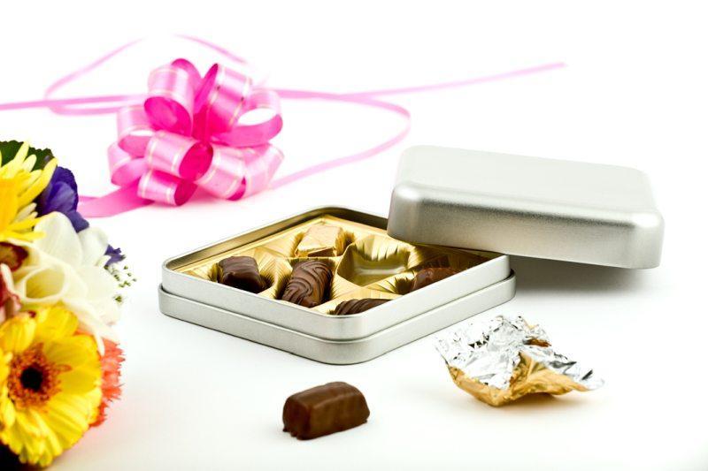 tin boxes - tin box 120x120x35mm